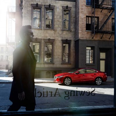 Mazda 6 – Patrick Curtet