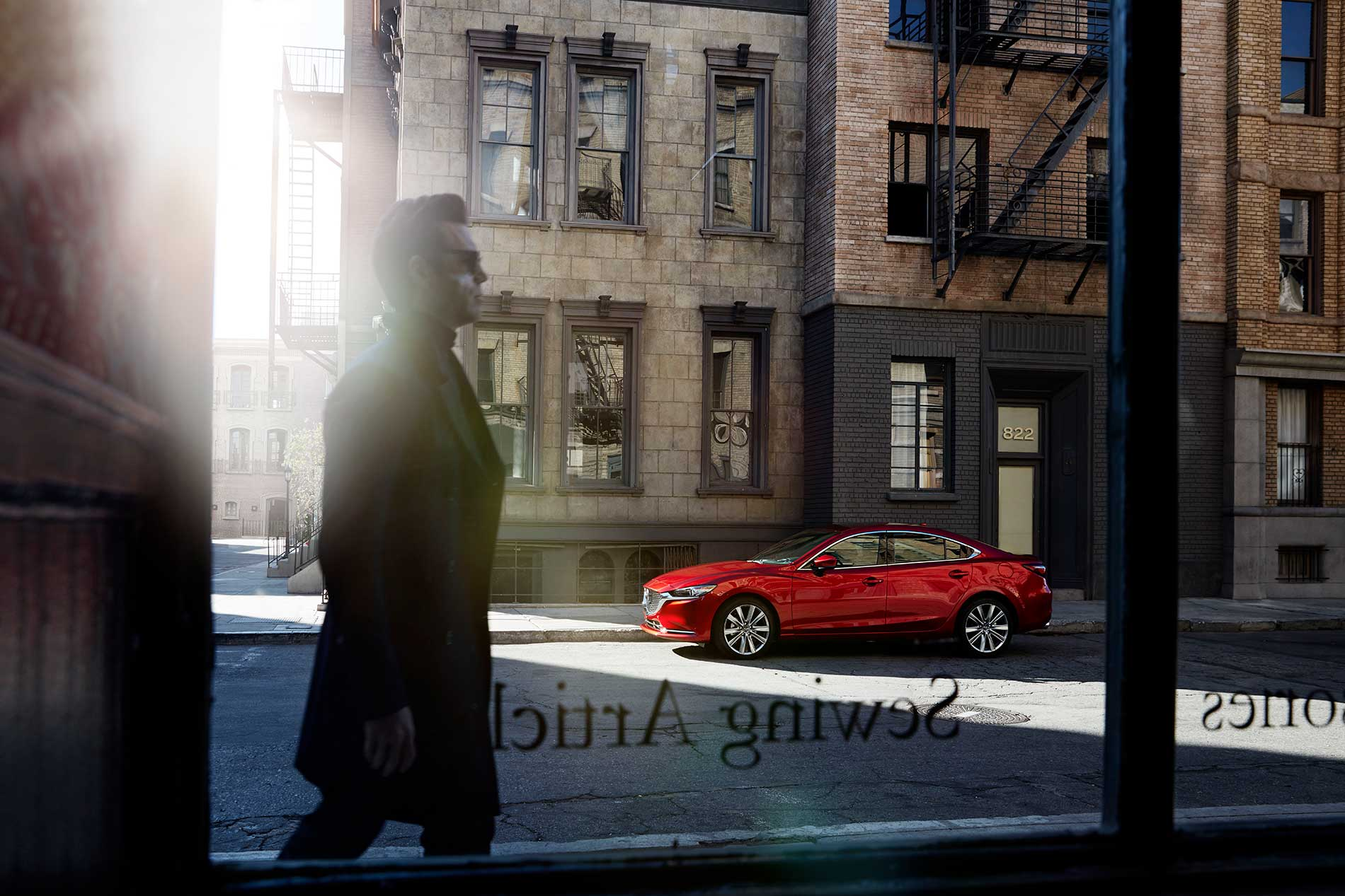 Client: Mazda Photographers: Patrick Curtet  Agency: Garage Team Mazda
